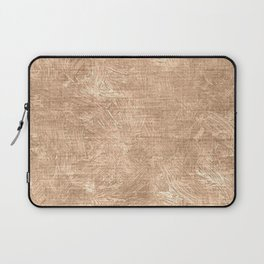 Toasted Almond Oil Painting Color Accent Laptop Sleeve
