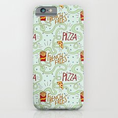 PIZZA & FRIES Slim Case iPhone 6s