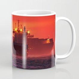 Ships in the windstorm Coffee Mug