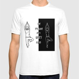 Yoga - The Epitome Of A Quiet Mind T-shirt