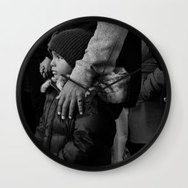 Son & Father Wall Clock