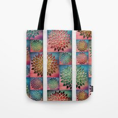 Abstract Petals Decoration Tote Bag