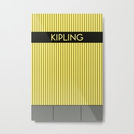 KIPLING | Subway Station Metal Print