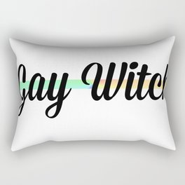Gay Witch Rectangular Pillow