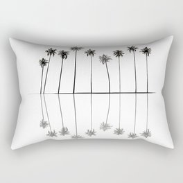 Palm Reflections II Rectangular Pillow
