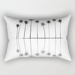 Palm Reflections II Rectangular Pillow