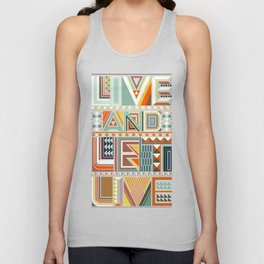 LIVE & LET LIVE Unisex Tank Top