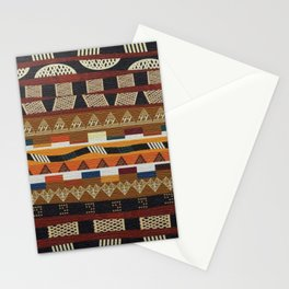 African Tribal Pattern No. 113 Stationery Cards