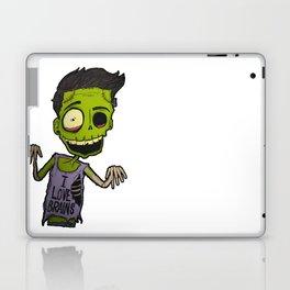 He loves brains Laptop & iPad Skin