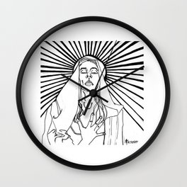 The Ecstasy of Madonna Wall Clock