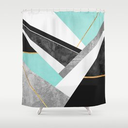Lines & Layers 1.2 Shower Curtain