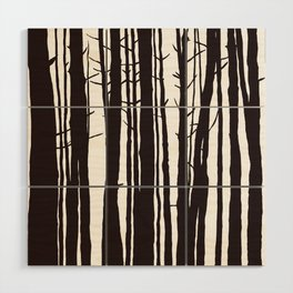The Trees and The Forest Wood Wall Art
