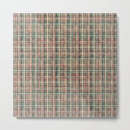 simple checkered pattern. Metal Print