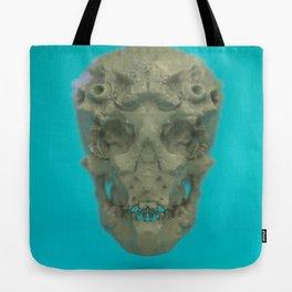 Skull Coral Reef Tote Bag