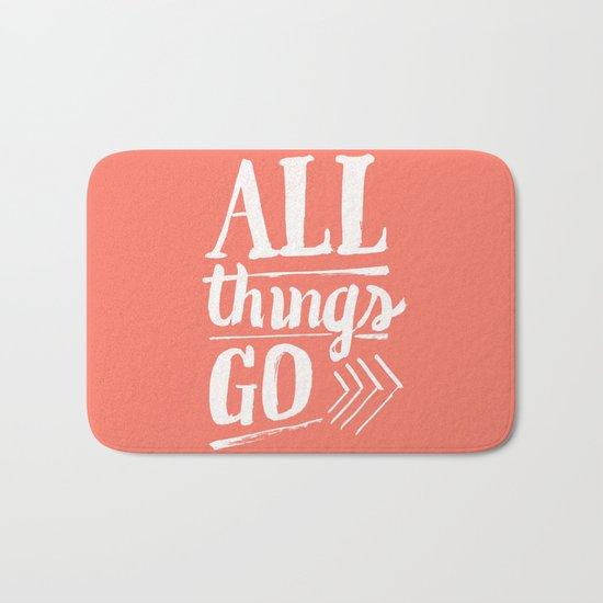 All things go Bath Mat