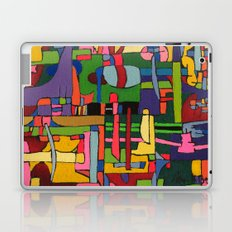 Colors in Collision #3 Laptop & iPad Skin