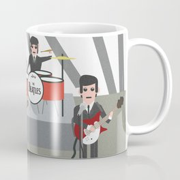 The Ed Sullivan Show Feb 9th 1964 Coffee Mug