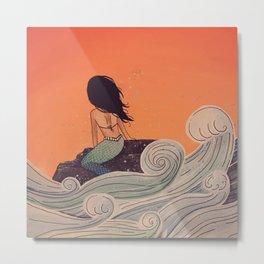 High Tide - MaddyAbbs Art Metal Print