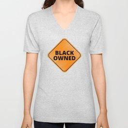 Black Owned Unisex V-Neck