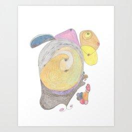 Drawing #14 Art Print