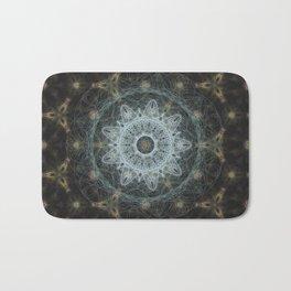Golden Mandala Web Bath Mat