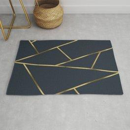 Copper and Midnight Navy #society6 #decor #buyart #artprint Rug