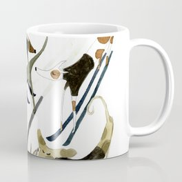 Beatnik Dogs Skiing Coffee Mug