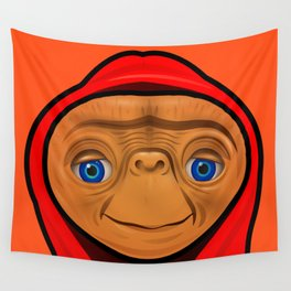 Sporty ET Wall Tapestry