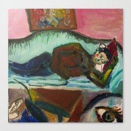 Sofa Lover Canvas Print