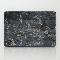 Old black marBLe iPad Case
