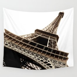 Eiffel Tower Material Wall Tapestry