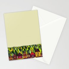 Train Back Home Stationery Cards