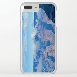 morning clouds forming Clear iPhone Case