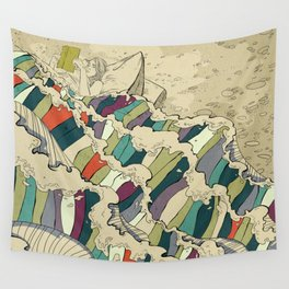Good Book Wall Tapestry