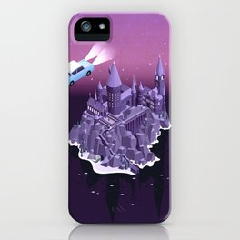 Hogwarts series (year 2: the Chamber of Secrets) iPhone Case