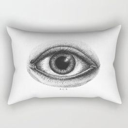 The Omniscient Eye Rectangular Pillow