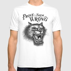 PROVE THEM WRONG X-LARGE Mens Fitted Tee White