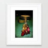 banjo Framed Art Prints featuring Banjo by Vinnie Ruddy