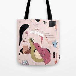 Avocado City Symphony Tote Bag