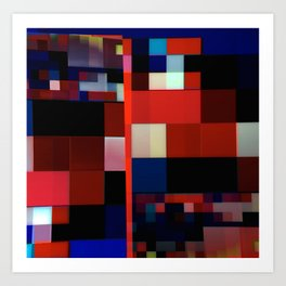 Patchwork VI Art Print