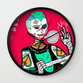 Better sorry than safe Wall Clock