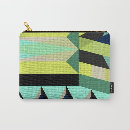 Geometric#25 Carry-All Pouch