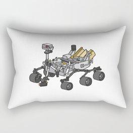 Curiosity, the Marsrover Rectangular Pillow