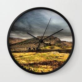 Return to Eilean Donan Castle, Scotland Wall Clock