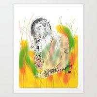 Zayn Malik's firework Art Print