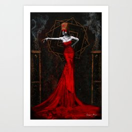 The Empress of Dust Art Print