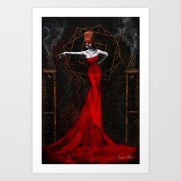 The Empress of Dust Art Print