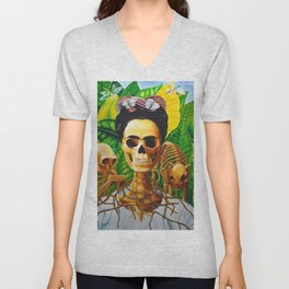Frida vive Unisex V-Neck