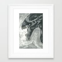 xenomorph Framed Art Prints featuring Resist Xenomorph by CliftJinkens