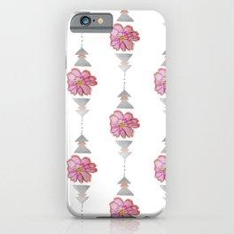 Metallic Bloom iPhone Case